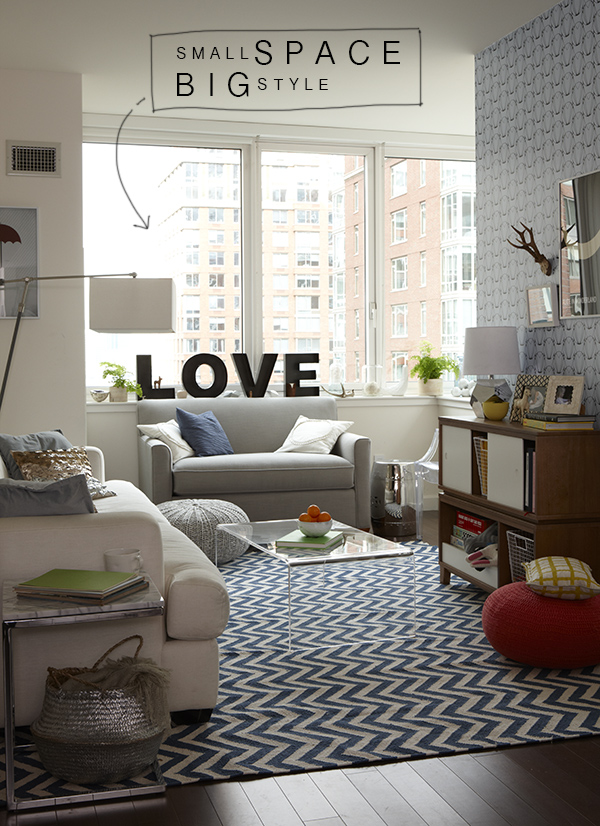 Decorating My Apartment Living Room: NYC Apartment / Land Of Nod
