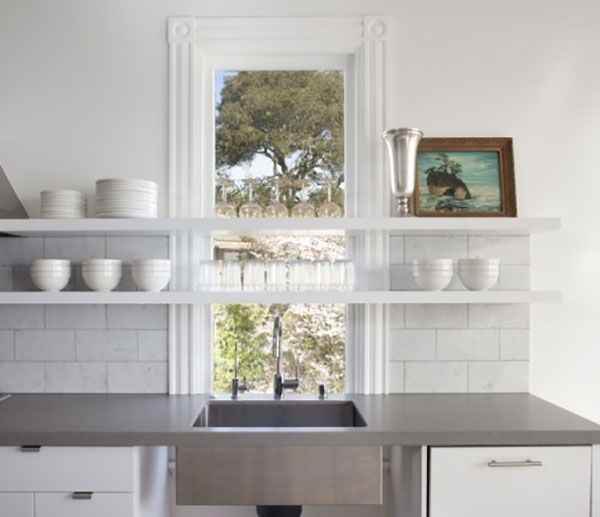 Kitchen Shelves Over Windows: Trend : Floating Shelves In The Kitchen