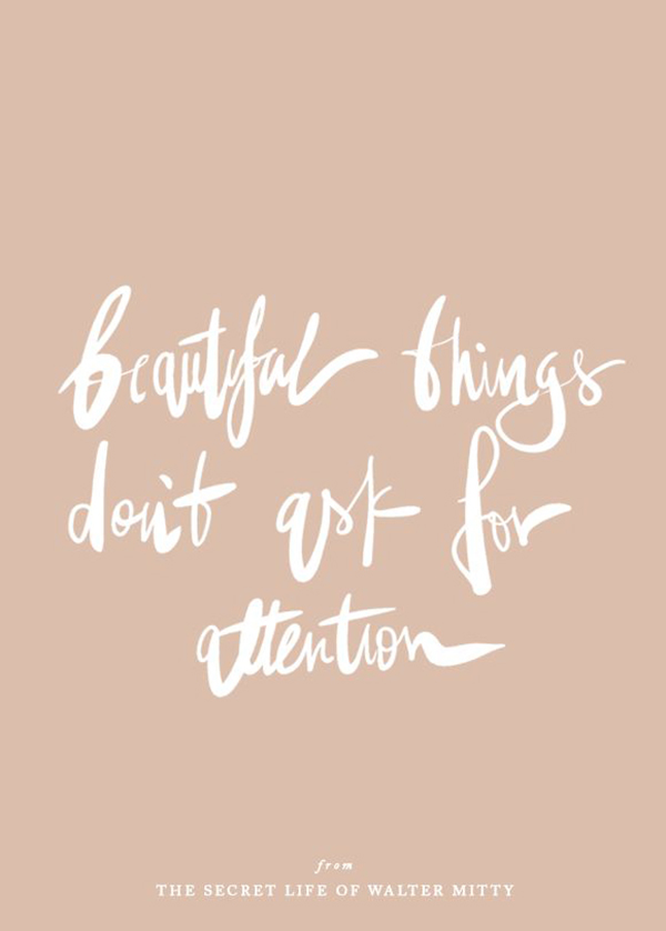 beautiful things quote