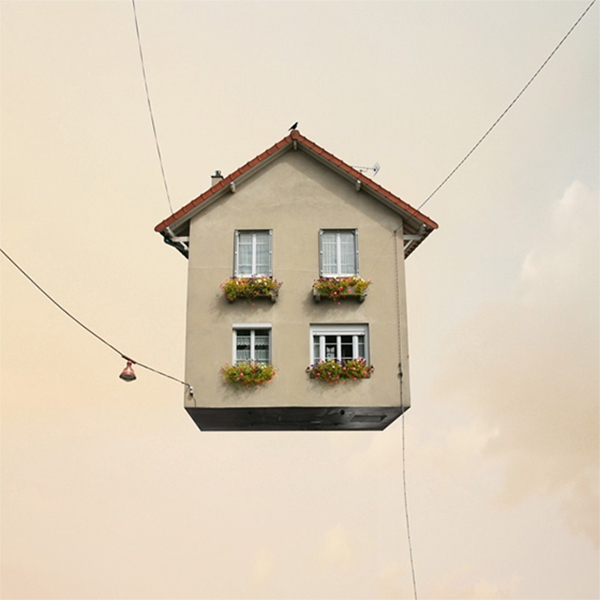 flying houses 3via la la lovely