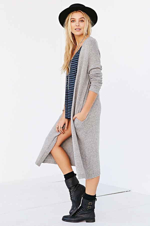 la la loving long sweaters for spring