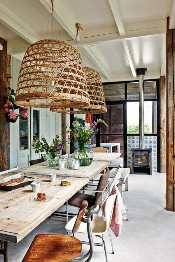 Netherlands Farmhouse via La La Lovely Blog
