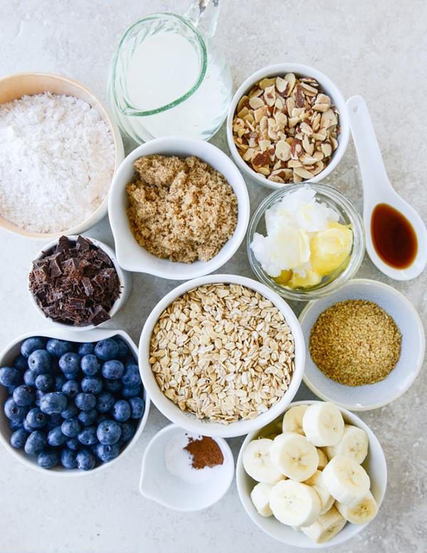 la la loving blueberry #breakfast #cookies