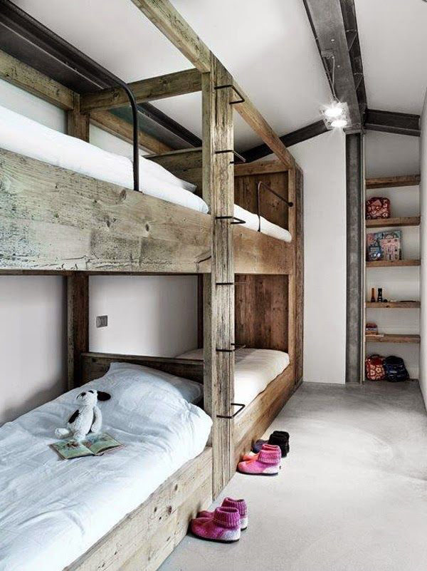 la la loving built in bunkbeds