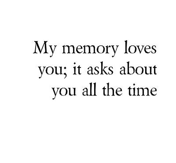 memory quote