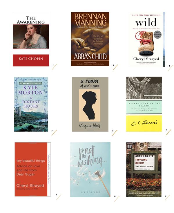 Summer Reading List by La La Lovely