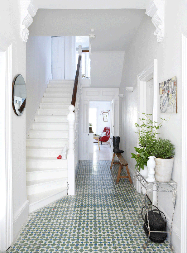 Pretty tiles + #staircase