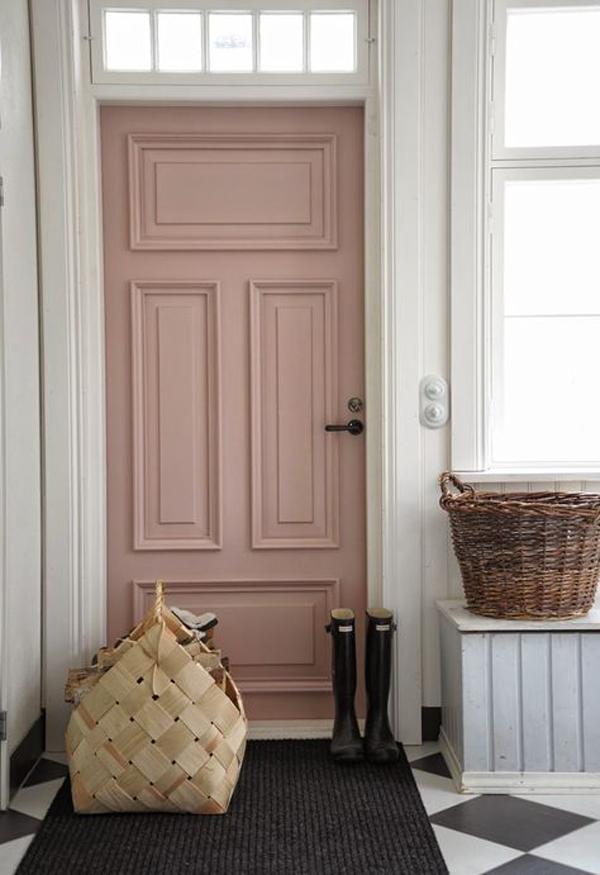 Pretty pink #door