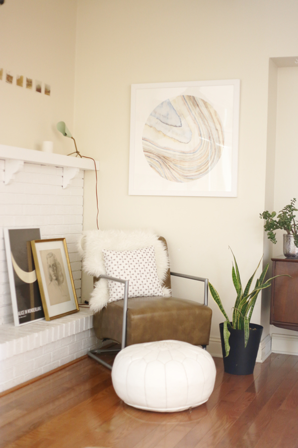 minted art via la la lovely