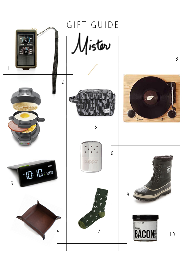 Gift Guide, Gifts for Guys