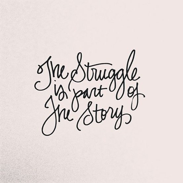 Struggle and Story #quote