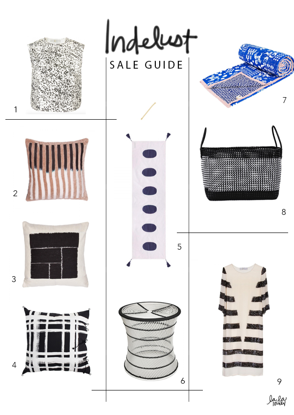 Indelust Sale Guide | La La Lovely