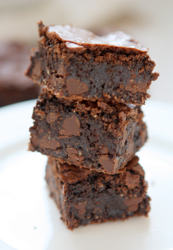 Gluten Free Oat Brownies